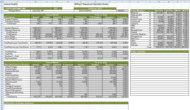 USABlueBook - Customized Wastewater Lab and Operations ... |Operations Spreadsheet
